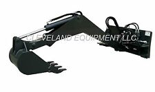 NEW SWING ARM BACKHOE ATTACHMENT Skid-Steer Track Loader bobcat kubota excavator