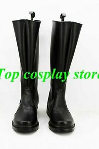 Star Wars Imperial Naval/Stormtrooper Officer Cosplay Shoes Black Boots