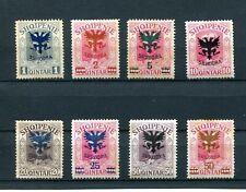 1920.ALBANIA.YVERT 97/105*.NUEVOS(MENOS 102).(MH).CATALOGO 280 €