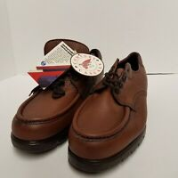 Red Wing Shoes Mens Oxfords Brown Leather Casual Lace Up Moc Toe