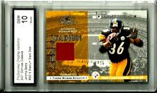 2001 Donruss Classics Stadium Seat Jerome Bettis Gem Mint 10 Pittsburgh Steelers