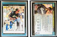 Alex Herrera Signed 2002 Bowman #439 Card Cleveland Indians Auto Autograph