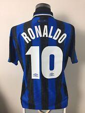 RONALDO #10 Inter Milan Home Football Shirt Jersey 1997/98 (L)