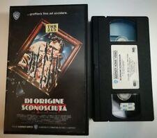 VHS - DI ORIGINE SCONOSCIUTA di George P. Cosmatos [WARNER BROS]