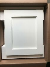 14x18 Shaker White Recessed Medicine Cabinet - SAVE WITH MINOR IMPERFECTIONS!