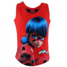 Miraculous Ladybug Mädchen T-Shirt Top rot oder rosa Gr. 92/98 - 122/128