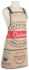 Now Designs Chef's Apron GOLDEN ACRES 100% Cotton Kitchen Cooking One Size