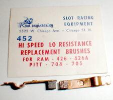 1 Pr HI Speed Low Resistance Brushes RAM 426A & Pittman 704 Motor NOS #452