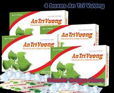 Promotion: Lot 4 boxes An Tri Vuong benh tri natural herbal hemorrhoids tao bon