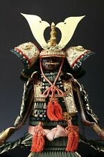 Japanese Beautiful Vintage Samurai Figure Doll -Yoshitoku Product-