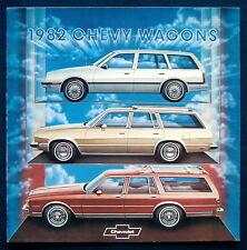 Prospekt brochure 1982 Chevrolet Chevy Wagons (USA)