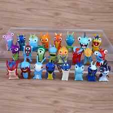 24pcs Slugterra Elemental Slugs Toy Cartoon PVC Action Figure Doll Collection