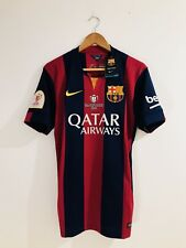 Fc Barcelona 2014-15 Stadium Messi Final Copa Del Rey 2015 Shirt Jersey