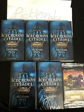 World Of Warcraft Tcg Sealed Icecrown Citadel Treasure Pack Lot! Mottled Drake