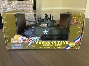 Ultimate Soldier 32x 20280 U.S. Army Sherman Tank & 2 Crew 1/32 New