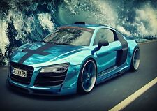 Audi Car Photo Poster Print ONLY Wall Art A4