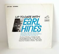 EARL HINES: Up To Date With US RCA Mono Jazz Orig Vinyl LP NM- Wax