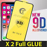 2 X 9D  Gorilla Tempered Glass Screen Protector For Apple iPhone 7,8 Plus X,XR