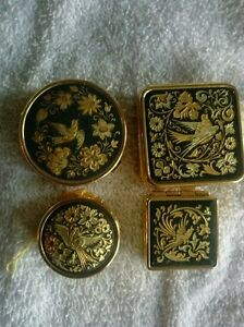 Damascene pill boxes
