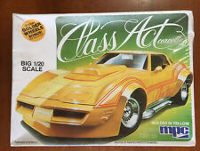 Class Act Corvette -  MPC 1/20 scale unassembled automobile kit - sealed/NIB