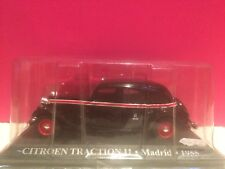 SUPERBE CITROEN TRACTION 11 MADRID 1955 ech 1/43 SOUS BLISTER J6