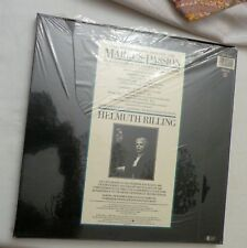 2-LP, BACH ST. MARK PASSION HELMUTH RILLING, LAKI/SCHREIER CBS Digital, SEALED!