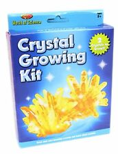 CRYSTAL GROWING KIT WORLD OF SCIENCE KIDS CHILDRENS EDUCATIONAL SET FUN TY9521