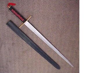 Large Double Edged Ninja Sword