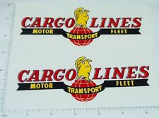 Wyandotte Cargo Lines Semi Trailer Sticker Set   WY-015