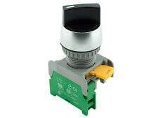 RS-222 ATI 22mm Spring Return Momentary Selector  Switch 1NO 2 Positions