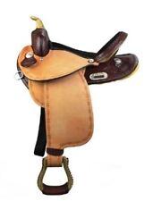 "Dakota 16"" Barrel Racing Flex Tree Saddle Mahogany Leather #306 ~ NEW"