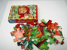 Little Red Riding Hood Jigsaw Puzzle Vintage