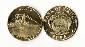 Nauru - 5 Dollars 2020 Nagato UNC