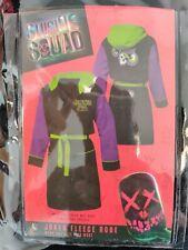 Dc Comics Suicide Squad Joker Bathrobe Men One Size Fits All Fleece Tmur8