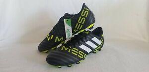 adidas Nemeziz Messi 17.4 Mens Size 8.5 Black Volt White Soccer Cleats S77198