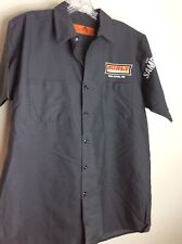 Surly Brewing Co. Twin Cities, Mn Red Kap Beer Delivery Uniform S/S Shirt Sz L