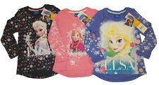 Disney Langarm Mädchen-Tops, - T-Shirts & -Blusen aus 100% Baumwolle