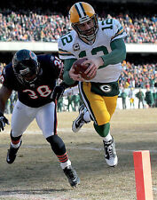 AARON RODGERS 8X10 PHOTO GREEN BAY PACKERS PICTURE TOUCH DOWN