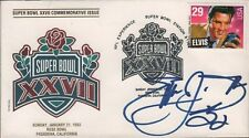 Emmitt Smith Signed Autographed Super Bowl XXVII Envelope SGC 071719DBT