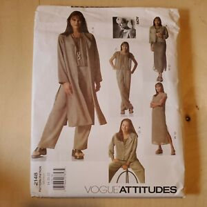 Vogue Attitudes ADRI pattern 2148  Misses Petitesize 12-14-16