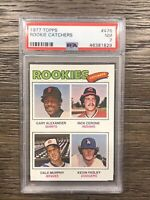 1977 Topps Dale Murphy Rookie PSA 7 RC #476 Catchers Braves