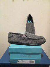 BLOWFISH GLIDER GREY HERRING FLANNEL SLIP ON LOAFER WOMENS SHOES SZ 5.5 M  NEW