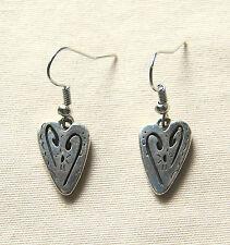Brand New BRIGHTON French wire Brazilian BAHIA Hearts earrings  FREE SHIPPING !