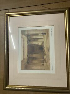 "Print ""Grand Portico of the Temple of Phila"" by David Roberts"