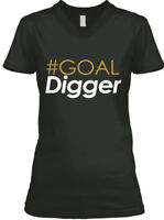Goal Digger Collection - Women's V-Neck Tee