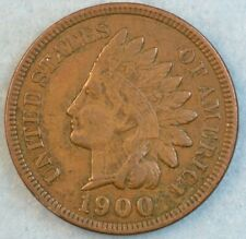 1900 Indian Head Cent Penny Liberty Very Nice Vintage Old Coin Fast S&H 36067