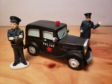 "St Nicholas Square Village Collection ""ON THE BEAT"" Police Car Officers"
