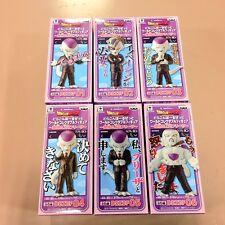 Dragon Ball Z World Collectable Figure WCF Ideal BOSS Freeza Freezer Set 6