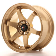 Japan Racing JR3 Alloy Wheel 15x8 - 4x100 / 4x114.3 - ET25 - Gold