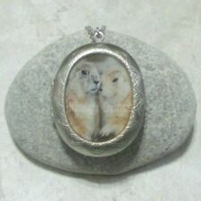 Groundhog Locket Pendant Necklace Jewelry Stainless Steel
